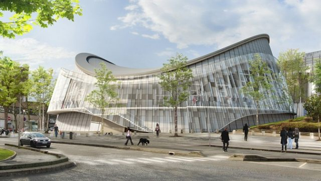 Accorhotels Arena – París – LED - Juegos Olímpicos - DVVD