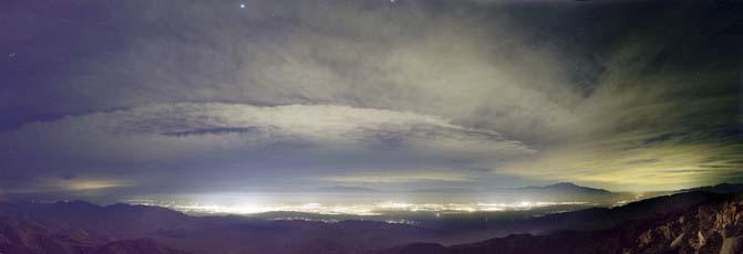 Atlas mundial de la contaminación lumínica - cielos contaminados - contaminación lumínica - iluminación