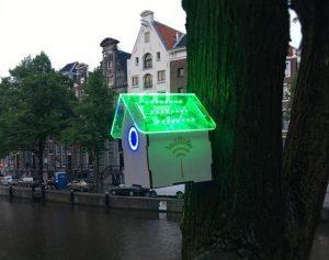 TreeWiFi - sensores - Amsterdam - contaminación - concienciación