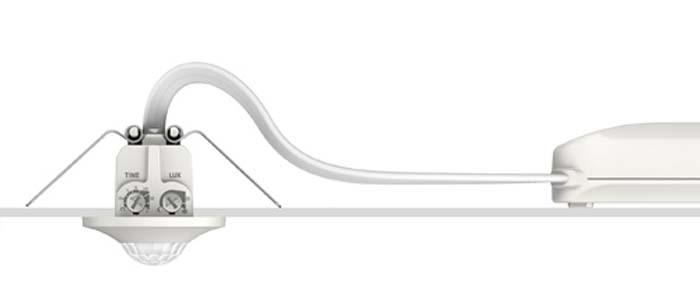 thePiccola - Theben - mini detectores de presencia y de movimiento - detectores de presencia - detectores de movimiento - iluminación