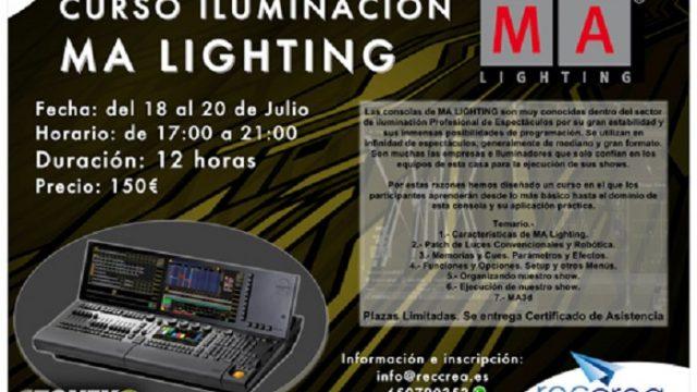 MA Lighting - Canarias - consolas - show - Reccrea formación universitaria