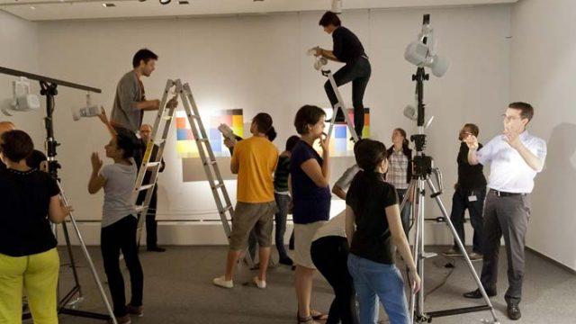 Erco - formación - workshops - Light Academy - iluminación - luz - museográfica - arquitectos