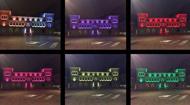Philips - LED - iluminación - San Sebastián
