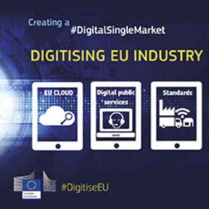 Comisión Europea - Mercado Único Digital - AFME - economía digital
