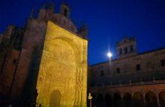 Proyectores - Christie - Boxer -Sono - imágenes - Convento de San Esteban - Salamanca - mapping - luz - Iberdrola