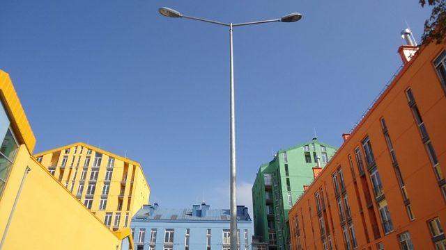 alumbrado público - Badajoz - luminarias - led