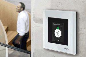 interfaz de usuario - KNX - Schneider Electric - control de estancias - Multitouch KNX Pro - pulsador KNX Pro