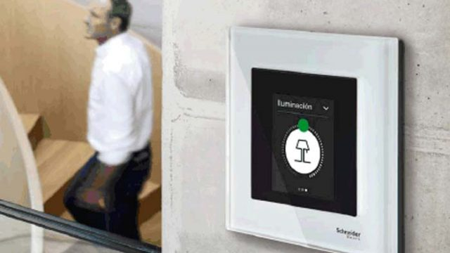 interfaz de usuario - KNX - Schneider Electric - control de estancias - Multitouch KNX Pro - pulsador KNX Pro