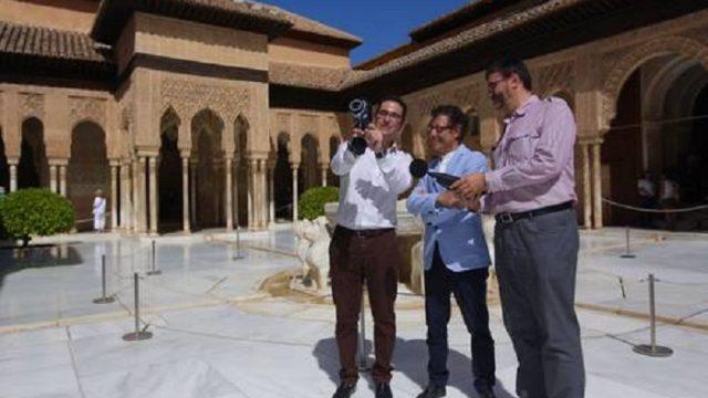 Alhambra, Granada, I+D+i, CEI BioTic, imágenes termográficas, Generalife