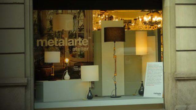 Metalarte - Rosa-Violán - Biosca & Botey - luminarias - Eva y Frank - Luxiona - luz