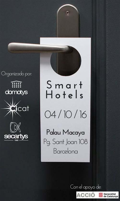 CICAT – DOMOTYS - jornada - Smart Hotels - hoteles - hotel - iluminación - automatización - domótica