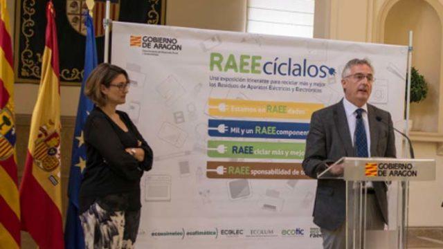 Fundación ECOLUM - exposición - RAEEcíclalos - Aragón -RAEE