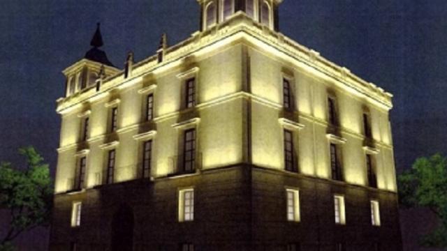 Palacio de Los Chapiteles - iluminación - Instituto de Estudios Riojanos - LED
