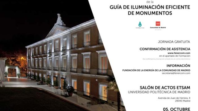proyecto de iluminación - eficiencia energética - iluminación - guía - monumentos