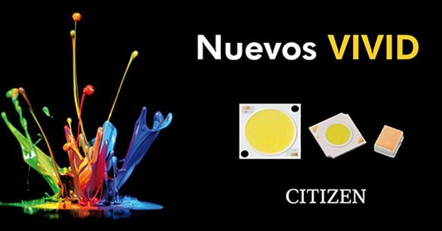 ALG - Matelec - LED VIVID - Citizen Electronics - Citizen - Cromática - luz - iluminación - COB - LED