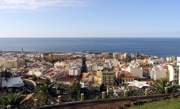 Puerto de la Cruz - Santa Cruz de Tenerife - Servicios Generales - Obras e Industria - alumbrado