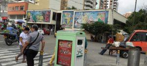 Contenedores inteligentes - Colombia - Red de Ciudades Inteligentes de Brasil - reciclaje - LED