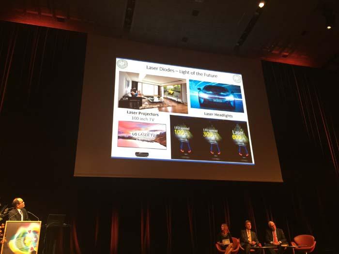 Iluminación - ponencias - LpS 2016 - de Stoppelaar - Nakamura - Seyringer - LED - Láser