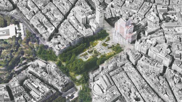 Plaza España Madrid, remodelación