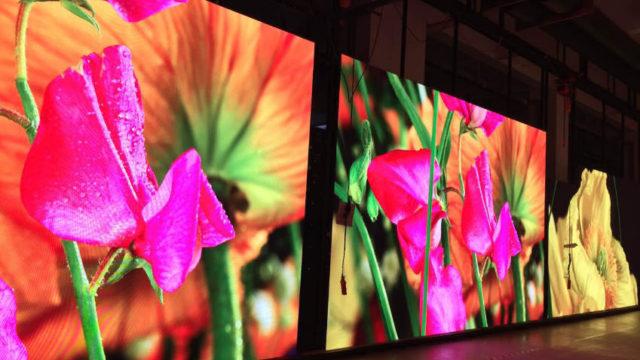 Charmex, pantalla LED, iluminantes sólidos