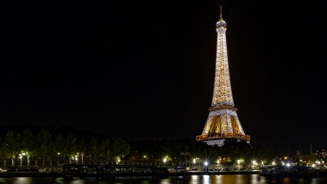 Eiffel Tower, LED, Lamp Lighting