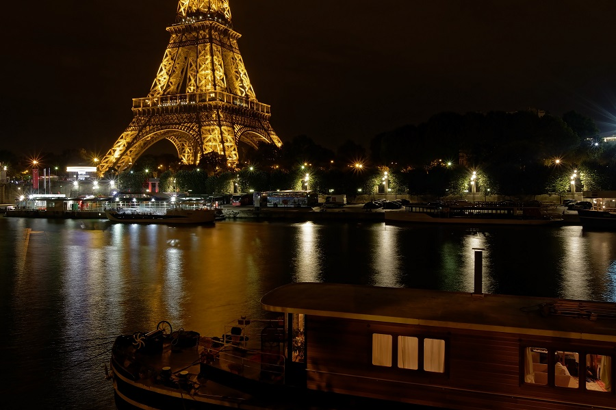 Eiffel Tower, Lamp Lighting, LED