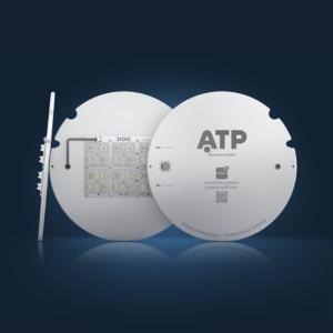ATP, disipador laminar