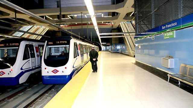 metro madrid, led, eficiencia energética