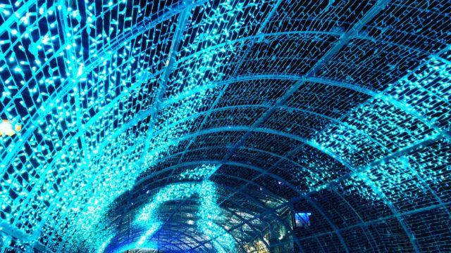 túnel de luz de norwich
