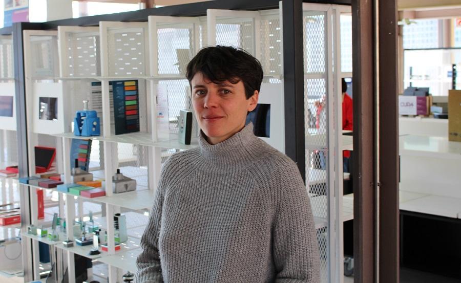 Galería de Materiales, COAM, Rebeca Piñeiro
