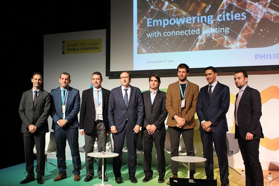 Philips Lighting España, Smart Cities, alumbrado público,