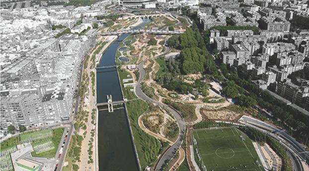 alumbrado, Madrid Rio, Bienal de Arquitectura Española, Arquitectura Española