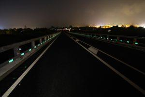 Nightway, balizamiento, LED