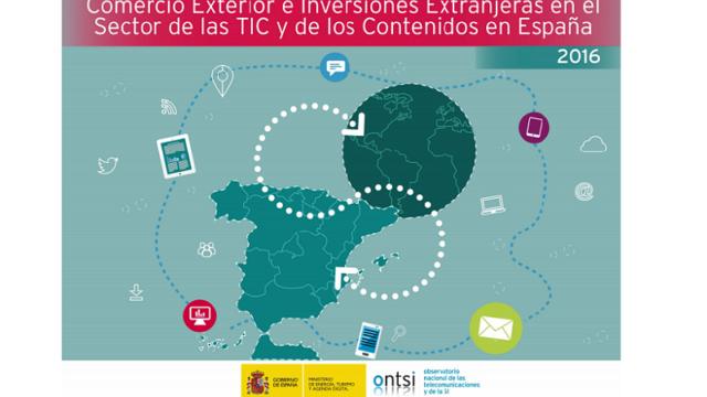 Comercio exterior, ONTSI, TICC, inversiones