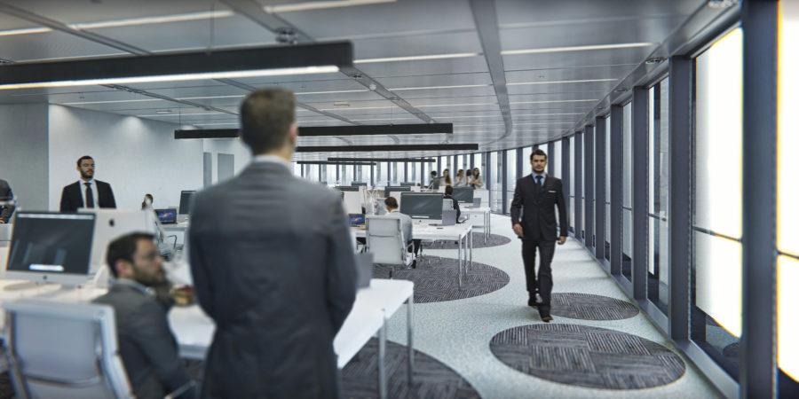 Philips Lighting, Torre Europa, Power over Ethernet, edificio inteligente