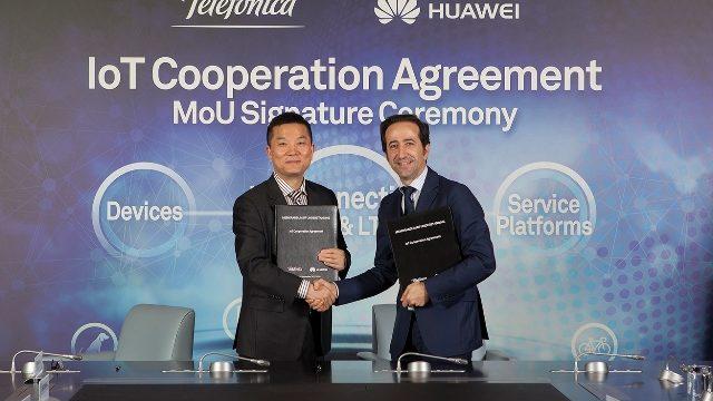 Huawei y Telefónica