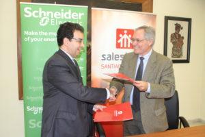acuerdo entre Salesianos y Schneider
