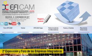 EFICAM - Exposición y Foro de las empresas instaladoras, plataformas de distribución y fabricantes de la Comunidad de Madrid @ Pabellón de Cristal | Madrid | Comunidad de Madrid | España