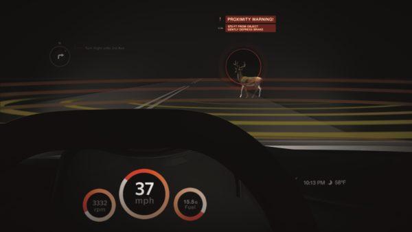 Tecnología de sensores LiDAR para una conducción autónoma.