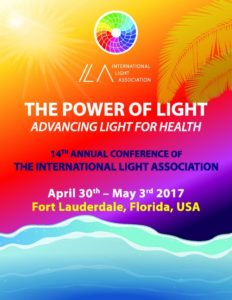 "The ILA 2017 Conference on Light and Health: ""THE POWER OF LIGHT"" @ BAHIA MAR FORT LAUDERDALE BEACH 
