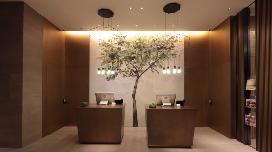 Soraa s led lighting brings art to life in hong kong hotel for Stage 47 designhotel