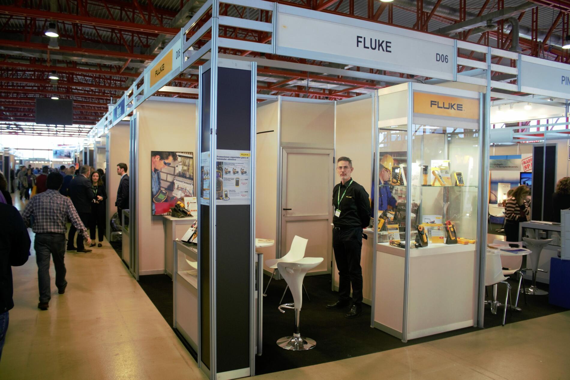El fabricante de instrumentación Fluke apoyando al mundo del instalador