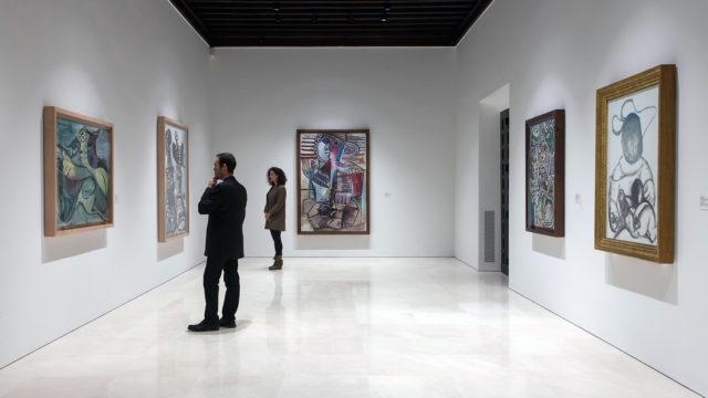 "MALAGA, 2017-Exposicion ""Pablo Picasso. Nueva Coleccion"". 13 Marzo. Museo Picasso Malaga. © MPM/jesusdominguez.com"