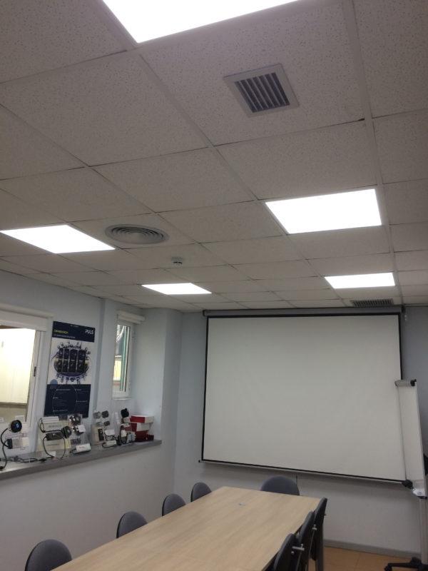 olfer instala iluminaci n inal mbrica led en sus oficinas On iluminacion inalambrica