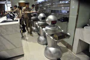 Robots, automatización, trabajo, industria 4, Industry, Robots