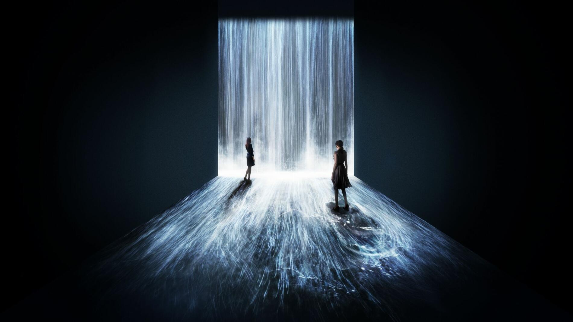 teamLAB, arte digital