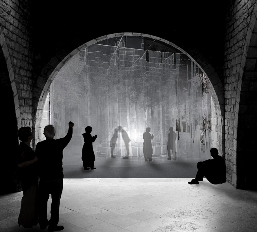 Elogio de la sombra; de Sergi Sauras y Pau Garrofé, estudiantes en Escola Tècnica Superior d'Arquitectura La Salle, España