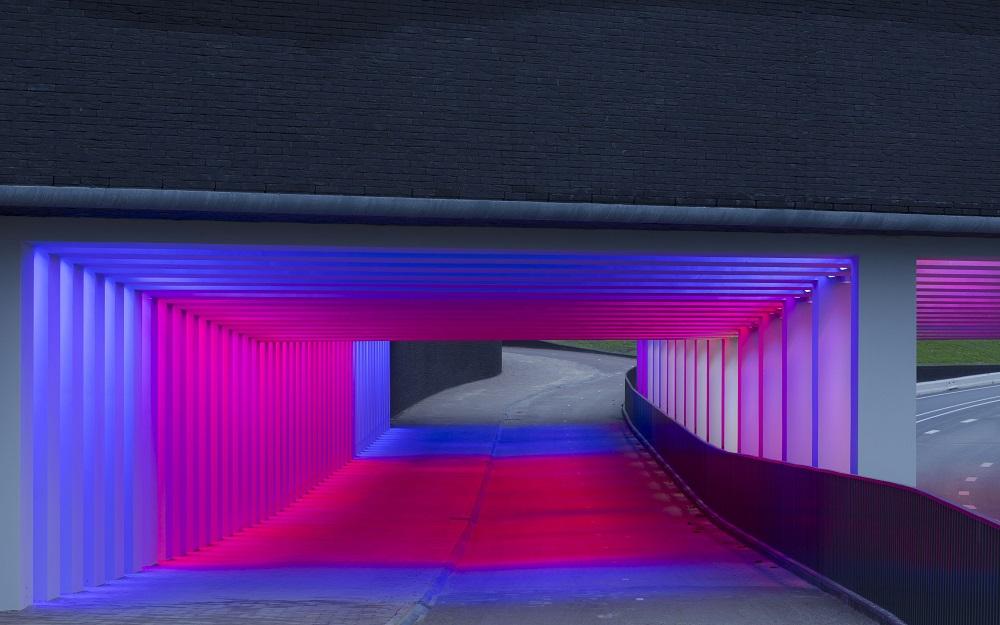 Marstunnel Zutphen, en Holanda; de Herman Kuijer