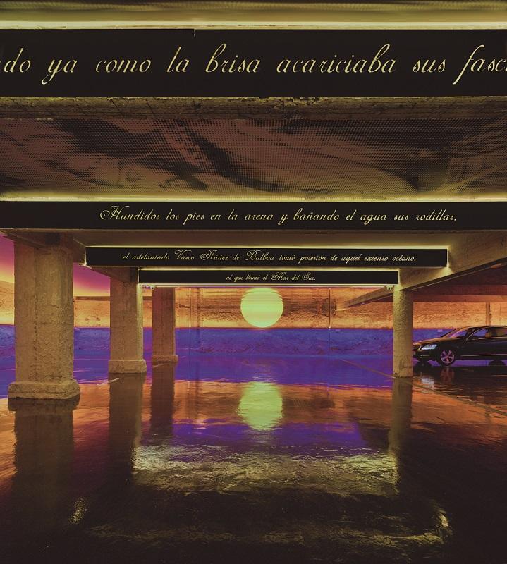 Primer Atardecer en el Pacífico. Aparcamiento Núñez de Balboa 52, Madrid, en España; de Clavel Arquitectos (Manuel Clavel Rojo y Luis Clavel Sainz)