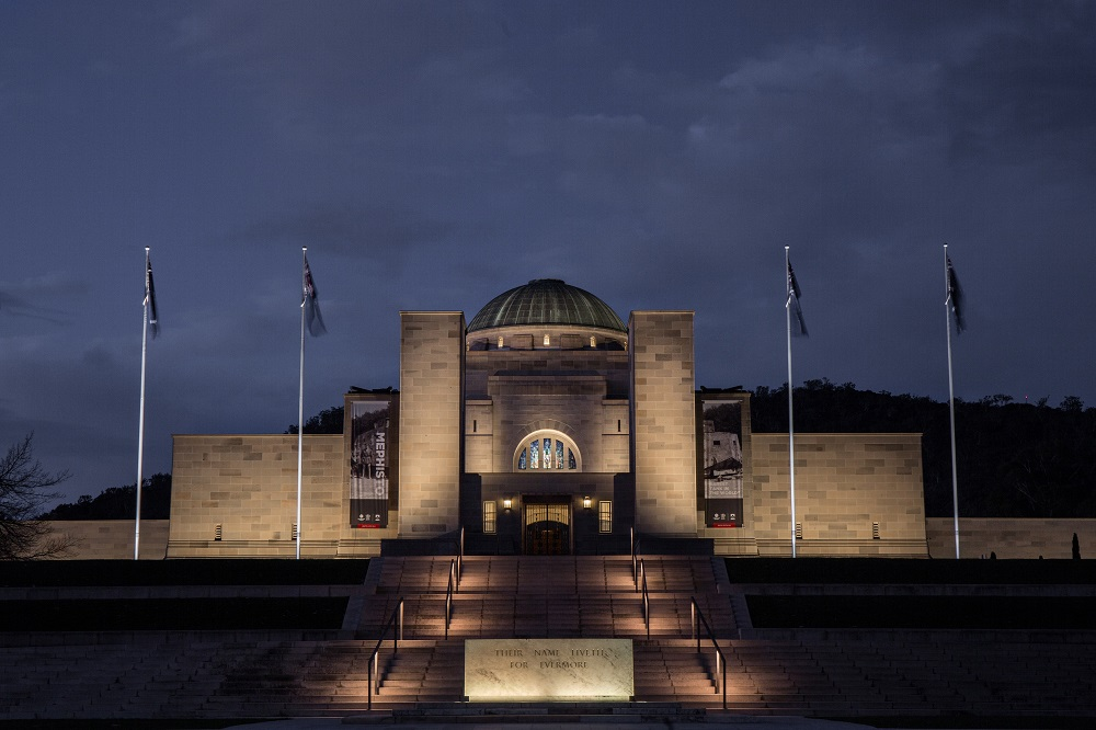 The Australian War Memorial, en Australia; de Steensen Varming